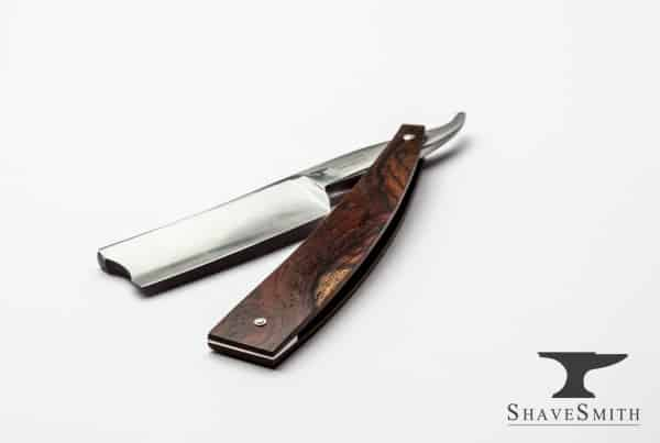 Custom ShaveSmith For Barber's Use Style Straight Razor in Cocobolo-27