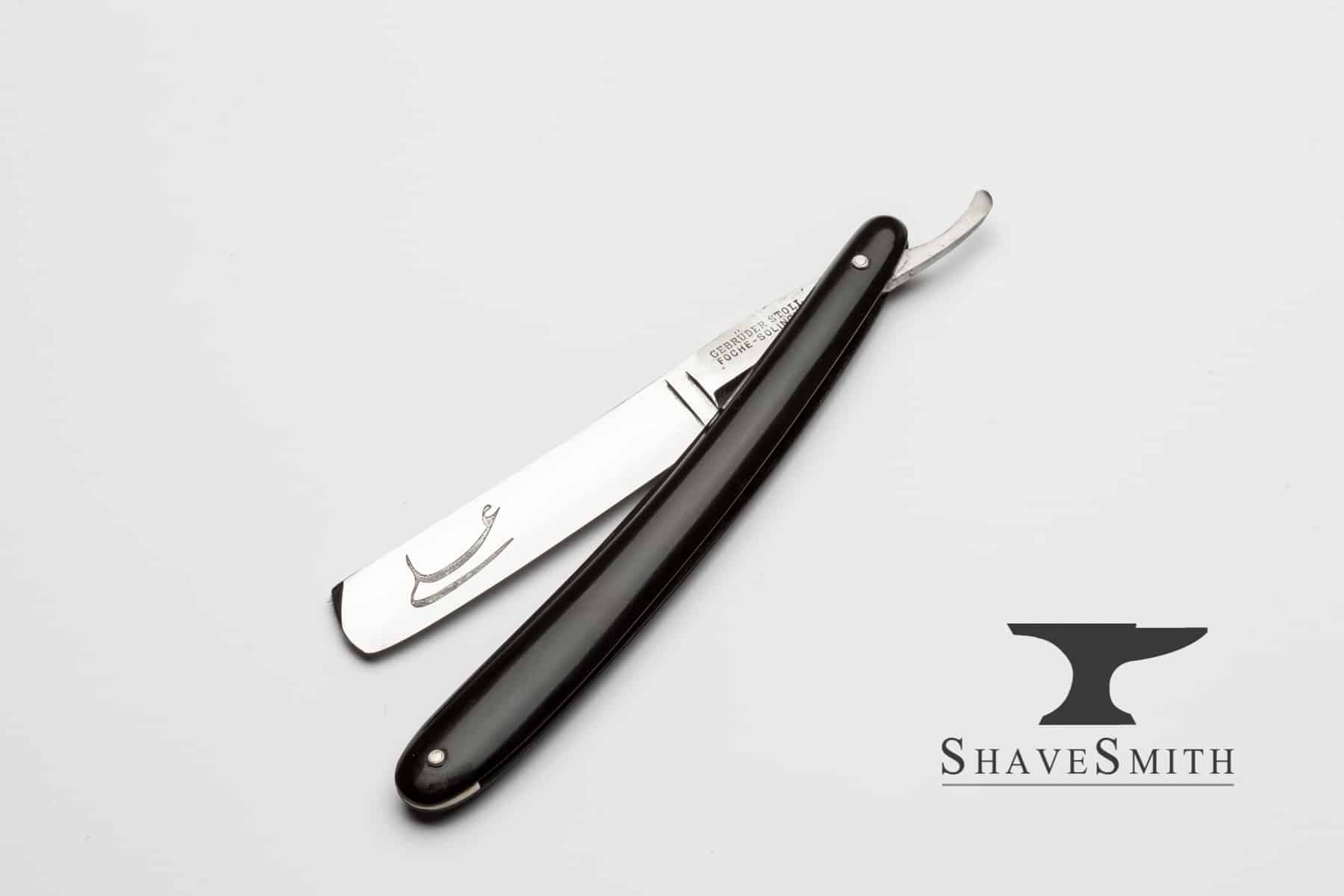 ShaveSmith Straight Razor With Custom Monogram