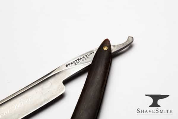 "6/8 Jonathan Hunt - ""Steel from Peru"" Encore Vintage Straight Razor"