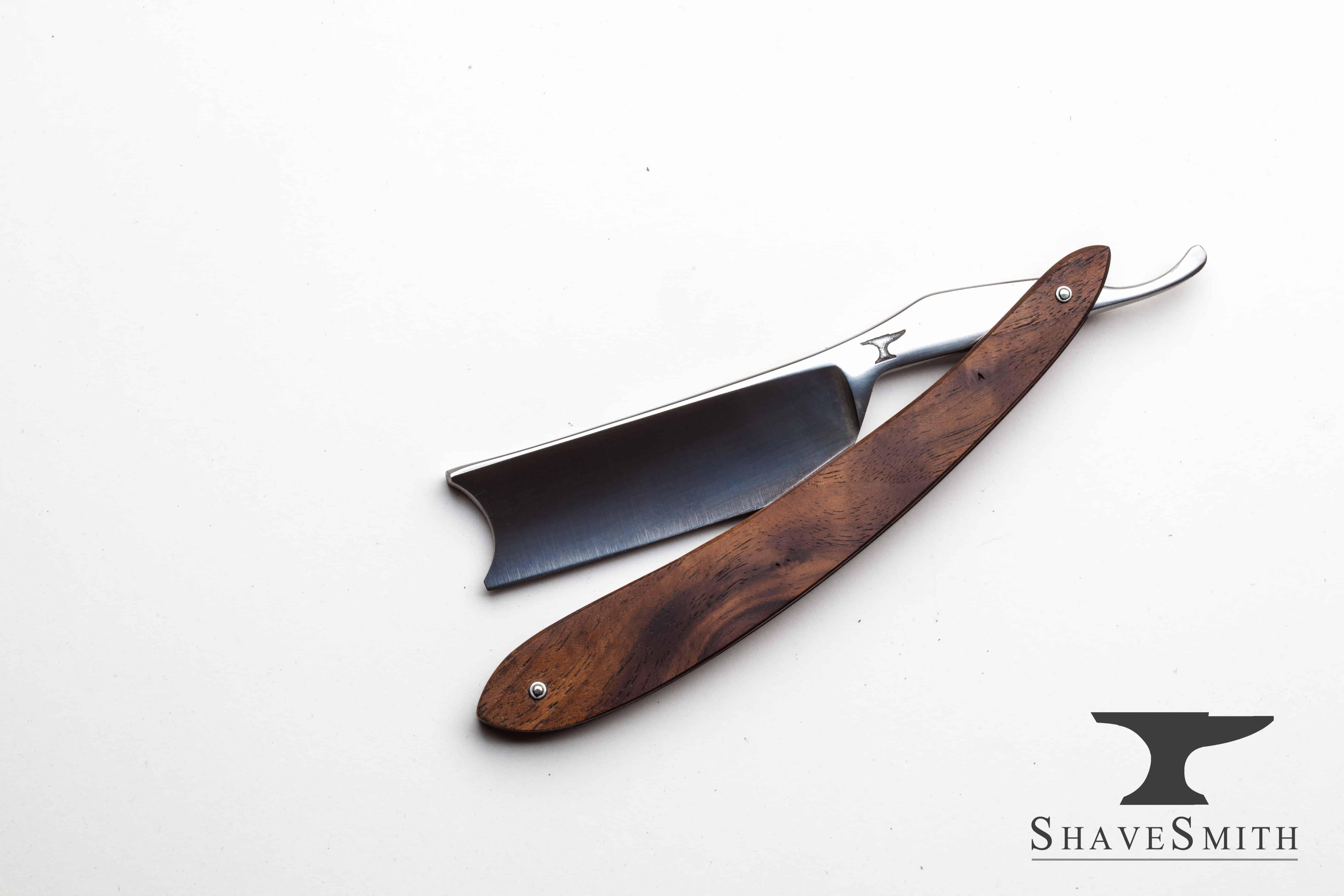 Koa Wood Custom Straight razor by ShaveSmith.